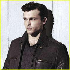 Alden Ehrenreich...he reminds me of James Dean! Yummm