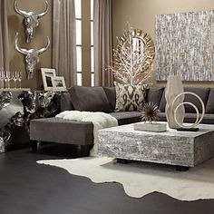 Timber Coffee Table | su15 living11 | Living Room | Inspiration | Z Gallerie