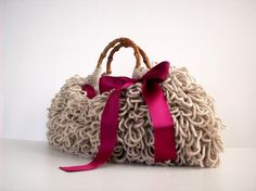 SALE OFF 15 NzLbags Handmade  Everyday Bag  Crochet by NzLbags, $75.00