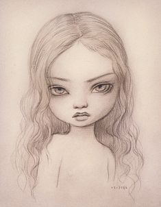 Wood Nymph Drawing - Mark Ryden