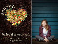 WA State high school senionr wins 2015 International Compost Poster Contest