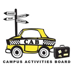 Want to get involved?  Campus Activities Board, AKA, CAB, is a great way to get started!  There are always events going on through CAB and it's a great way to help you meet other students.