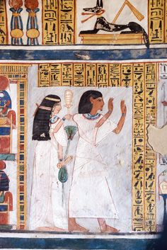 https://flic.kr/p/nrMMnH | Tomb of Roy TT 255 | TT255 Tomb of Roy, Royal Scribe and Steward of the House of Horemheb and Amun Dra Abu el-Naga; Valley of the Nobles; Luxor West Bank; Egypt Roy and Nebtawy