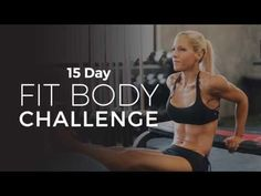 Trainer Lindsey's 15 Day Fit Body Challenge