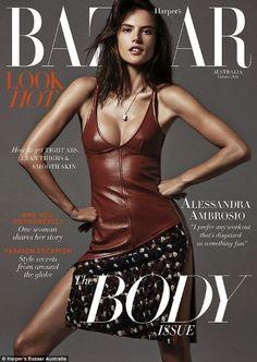 Alessandra Ambrosio - Harper's Bazaar Magazine Cover [Australia] (October 2014)
