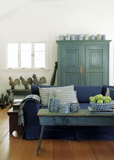 A Blind Pash Interiors: American Country Style