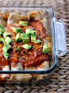 Healthy Breakfast Enchiladas