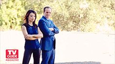 gif photoshoot Our edits Clark Gregg phil coulson Ming-Na Wen Agents of S.H.I.E.L.D. Melinda May