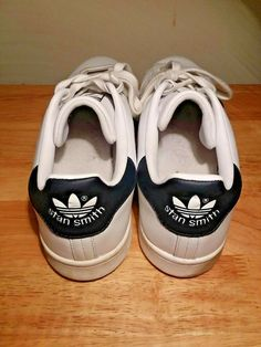 ea271400c Adidas Stan Smith signature shoes white and blue CLASSIC size 12 mens   adidas  FashionSneakers