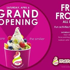 Youliketonominom S Photo Sneak Peek Of Our New Nominom Store In The Campsie Center Campsi Froyo Shop Grand Openings Ribbon Cutting Ceremonies