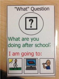 FREE cards for answering  wh questions. Contains twenty conversation cards. They are printable and the fronts and backs of the cards print separately. Print on card stock, cut them out, and laminate! The cards are divided into different categories: giving compliments, what questions, where questions, when questions, and who questions.  Download at:  https://www.teacherspayteachers.com/Product/Conversation-Cards-Set-1-1857294