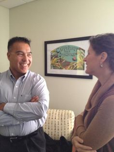 Fred Alejo enjoys chatting with Allegro about organic teas