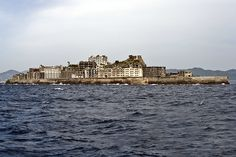 Hashima Island, also called Gunkanjima meaning Battleship Island, is Japan's ultimate industrial ruins ghost town
