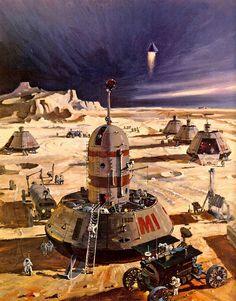 Gavin Rothery - Directing - Concept - VFX - Gavin Rothery Blog - Robert McCall's NASA Paintings