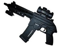 Kel-Tec PLR 16, 223. Loading that magazine is a pain! Get your Magazine speedloader today! http://www.amazon.com/shops/raeind