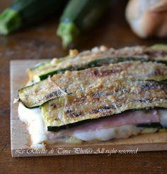 Parmigiana di zucchine light,una ricetta leggera ma gustosa
