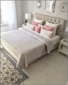 Charlton Home Rauscher Upholstered Panel Bed at a Glance - targetinspira Home Bedroom, Girls Bedroom, Bedroom Decor, Bedroom Furniture, Bedroom Ideas, Furniture Chairs, Outdoor Furniture, Furniture Plans, Kids Furniture