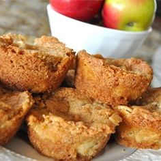 "Apple Brownies | ""I was able to use organic ingredients and felt like it was a much healthier option for a snack/dessert!"""