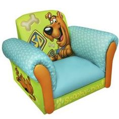 scooby doo gifts | scooby doo kid s upholstered chair magical harmony kids scooby doo ...