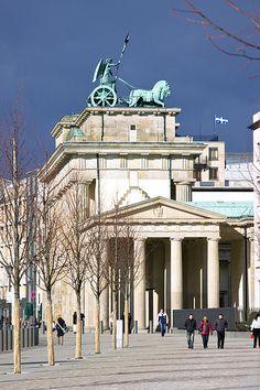 Germany. Brandenburger Tor, Berlin