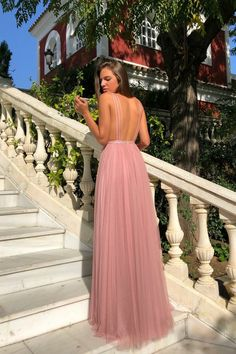Sapghetti Straps Deep V-Neck A-Line Tulle Backless Sequin Prom Dresses – OkBridal Matric Dance Dresses, Sequin Prom Dresses, V Neck Prom Dresses, Maxi Bridesmaid Dresses, Ball Gowns Prom, Gala Dresses, Ball Gown Dresses, Evening Dresses, Prom Outfits
