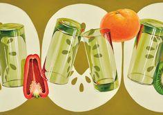昼間部 デザイン・工芸科 [芸大 デザインクラス] 合格者再現作品・メッセージ|ふなばし美術学院 Composition Design, Japan Design, Food Illustrations, Food Art, Arts And Crafts, Graphic Design, Watercolor, Texture, Drawings