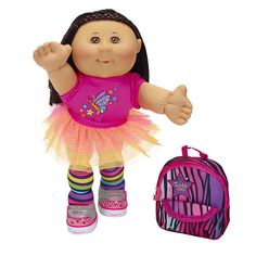 Cabbage Patch Twinkle Toes Kid with Backpack - Hispanic Girl