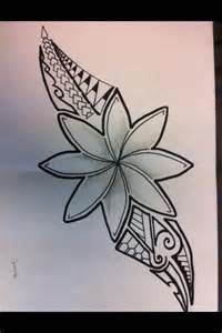 polynesian style tattoos for women flowers - - Yahoo Image Search Results