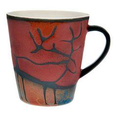 Poro muki  A reindeer mug by Pentik