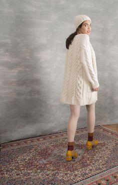 King Cardigan 100% merino wool,  #knitwear #handmade #AW16