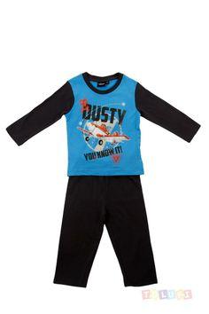 Pyjama Garçon Planes Dusty bleu marine https://twitter.com/Tolukicom #enfant #pyjama