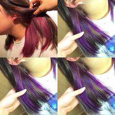 WEBSTA @ namii373 - 本日のお客様....前回紫入れたけどピンクになってたから完全紫にしましたぞ〜〜#カラー#ヘアカラー#ハイトーン#ブリーチ#インナーカラー#紫#マニパニ#美容学生#ハリビ#福岡#ファインダー越しの私の世界 #hair#color#instagood #instatags4likes #instalove #instaphoto #instacollage #photo#fff#l4l #namii#19#20161107#防弾少年団 #bts #방탄소년단 #楽しんでね#💜