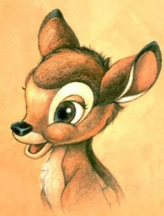 Bambi on We Heart It http://weheartit.com/entry/113689891/via/Fairytale_as_old_as_Time