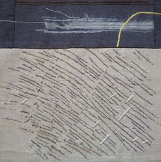 Print textile artist and embroiderer Sheila Mortlock