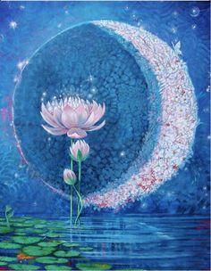 Moon flowers.