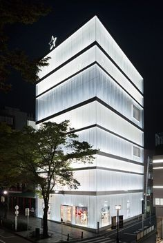 SANAA's Dior Omotesando Store Receives Peter Marino Refit   Interior Design Seminar