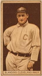 1912 Brown Backgrounds T207 #16 Fred Blanding Front