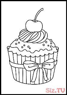 Riscos Graciosos Cute Drawings Cupcakes Sorvetes Bolos E Doces Cupcakes Iriscos Grac Dibujos De Cupcakes Dibujos Para Colorear Dibujos Tiernos Para Colorear