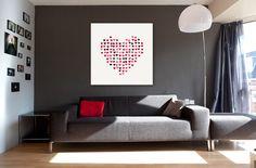 Kauf 'Whole Lotta Love' von Christy Leigh auf Leinwand, Alu-Dibond, (gerahmten) Postern und Xpozer.