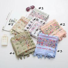 Hot sale fashion print flowers tassels scarf/scarves women viscose foulard pashmina bandana shawls muslim vintga echarpe muffler  #fashion #style #beauty #pretty #cute #shopping #love #instafashion #instalike #dress