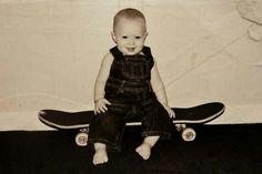 #skateboard #baby #boy #photography