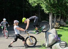 Professional mountain bike skills instructor Lindsey Voreis shares 8 great moves to get you ready to ROCK on your mountain bike this summer