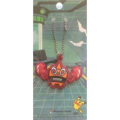 Pokemon Center 2013 Heat Rotom Rubber Keychain