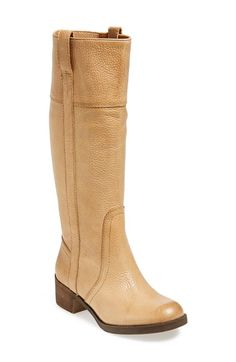 Lucky Brand 'Hibiscus' Boot (Women)(Wide Calf) available at Flat Heel Boots, Wide Calf Boots, Knee High Boots, Bootie Boots, Womens Boots On Sale, Pull On Boots, Shoe Sale, Lace Up Boots, Womens Flats