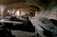 Stored away for decades in a labyrinth of underground rooms and corridors