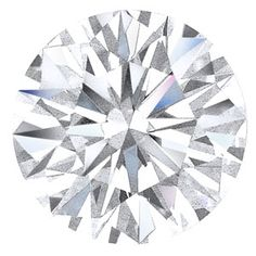 0.45 Carat F I1 Round Cut Loose Diamond EGL US310108101D