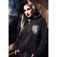 """CRMC X @wirosatan X @viewfromthecoffin """"Aske Til Aske"""" Sweat Parka Available at www.crmc-clothing.co.uk 