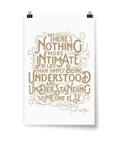 Nothing More Intimate Poster Brad Meltzer, Nothing More, Everybody Talks, Silk Screen Printing, The Unit, Reading, Prints, Poster, Life