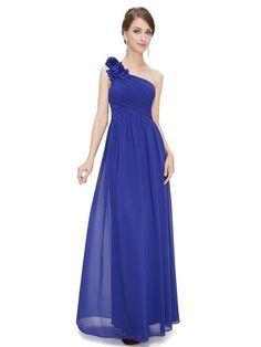 PIPPA Long Dress -  Sapphire Blue