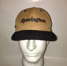 Vintage Remington Strapback Hat Vintage Hat Remington Cap Vintage Strapback   fashion  clothing  shoes  accessories  mensaccessories  hats (ebay link) 3514398b19c5